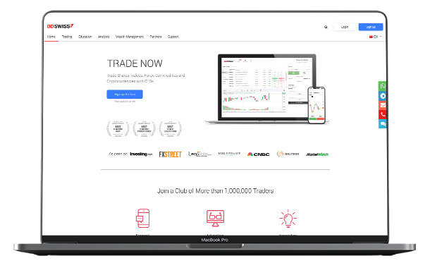 Honest review about BDSWISS, a popular CFD, Crypto and Forex Broker.
